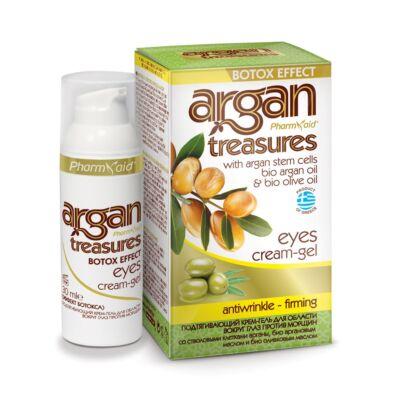 Pharmaid Argan Treasures ránctalanító szemkörnyék ápoló zselé 30 ml