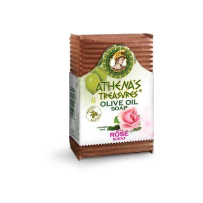 Pharmaid Athena's Treasures Olívaolaj szappan rózsás 85 gr