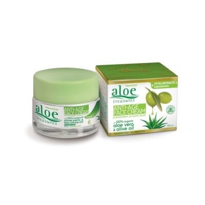 Pharmaid Aloe Treasures Anti-age arckrém 50 ml