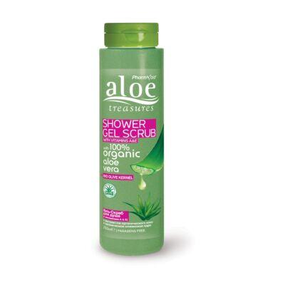 Pharmaid Aloe Treasures bőrradírozó tusfürdő 250 ml