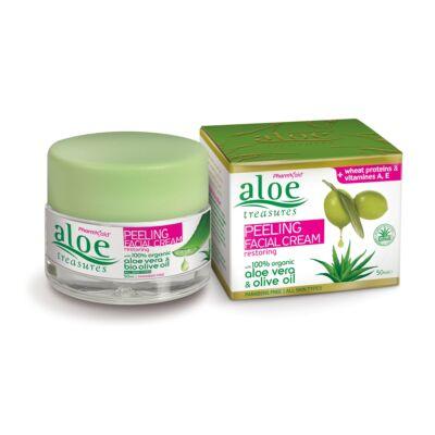Pharmaid Aloe Treasures Peeling arckrém 50 ml