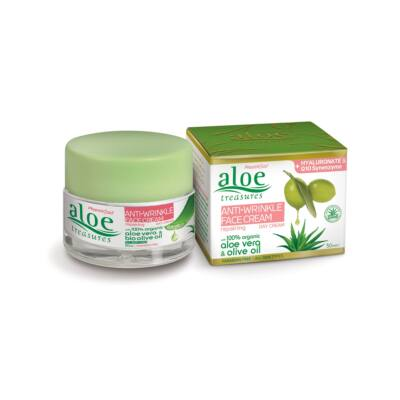 Pharmaid Aloe Treasures ránctalanító arckrém 50 ml
