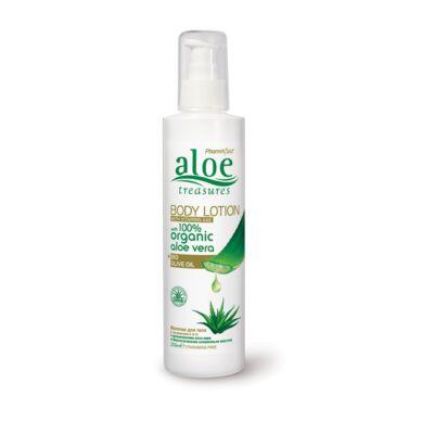 Pharmaid Aloe Treasures Aloe Vera natúr testápoló Olíva olajjal 250 ml
