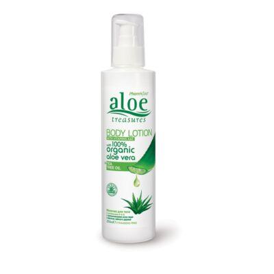 Pharmaid Aloe Treasures Aloe Vera testápoló teafa olajjal 250 ml