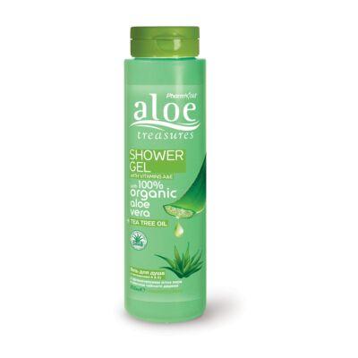 Pharmaid Aloe Treasures tusfürdő teafával 250 ml