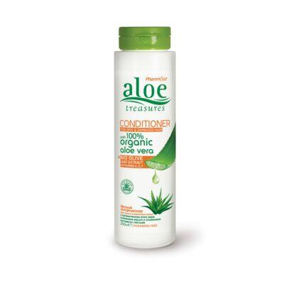 Pharmaid Aloe Treasures hajkondicionáló száraz és sérült hajra 250 ml