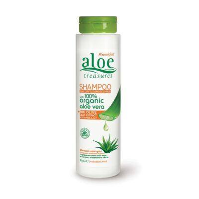 Pharmaid Aloe Treasures Sampon száraz és sérült hajra 250 ml