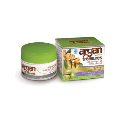 Argan Treasures bőrjavító éjszakai krém 50 ml