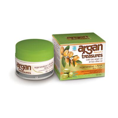 Pharmaid Argan Treasures bőrmegújító AHA savas hámlasztó arckrém 50 ml