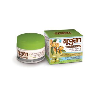 Argan Treasures ránctalanító & hidratáló nappali arckrém 50 ml