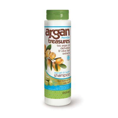 Argan Treasures Sampon normál és zsíros hajra 250 ml