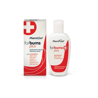 Pharmaid Burns Plus napégést enyhítő, bőrregeneráló krém 8% panthenollal 100 ml