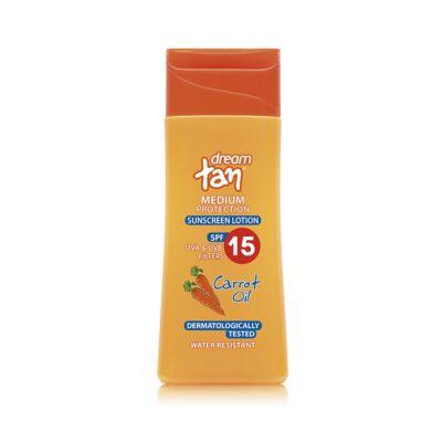 Pharmaid Dream Tan sárgarépás fényvédő naptej SPF 15' 150 ml
