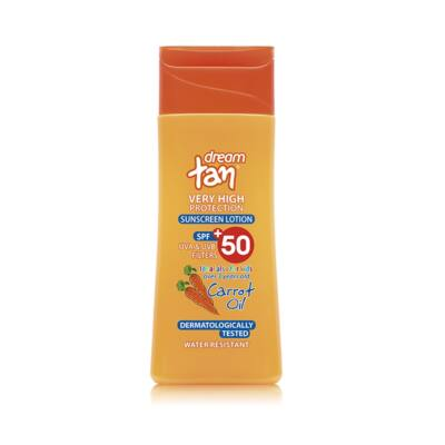 Pharmaid  Dream Tan sárgarépás fényvédő naptej SPF 50' 150 ml