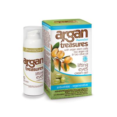 Pharmaid Argan Treasures lifting hatású szemkörnyékápoló krém-gél 30 ml