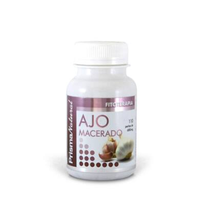 PrismaNatural Ajo Macerado Fokhagyma olaj  (2% allicin) gyöngy kapszula 110 db