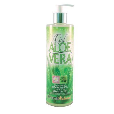 Aloe Vera gél testápoló vadrózsával és teafával