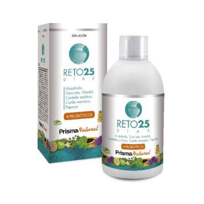 RETO25DÍAS komplex összetételű súlykontroll folyadék, az eredményes fogyókúráért!